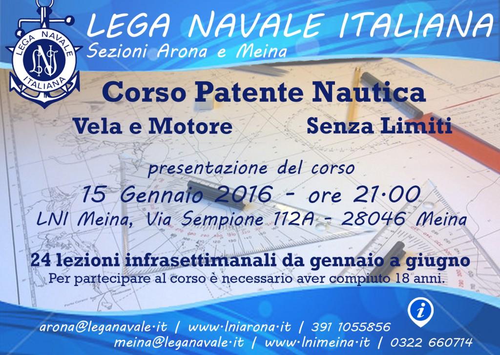 Volantino Patenti A6 2016